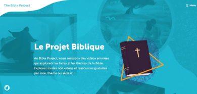 « The Bible Project »  maintenant en français