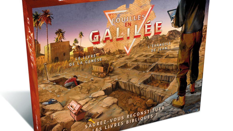 """Un vrai jeu de société axé sur la Bible : bienvenue dans """"Fouilles en Galilée"""""""